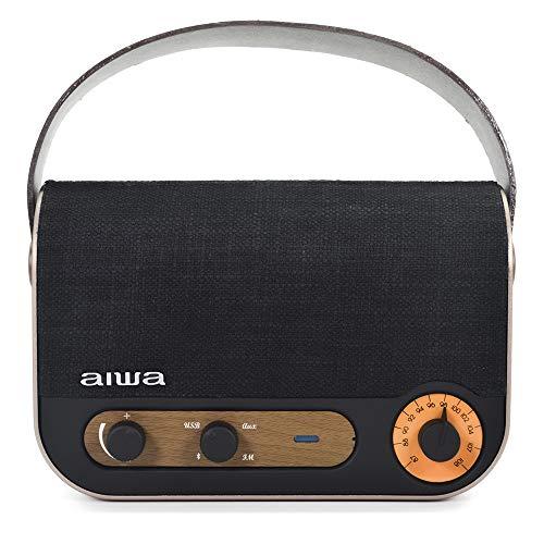 Aiwa Radio y Altavoz Portátil RBTU-600