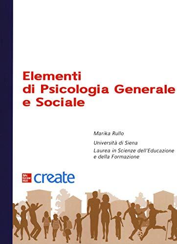 Elementi di psicologia generale e sociale