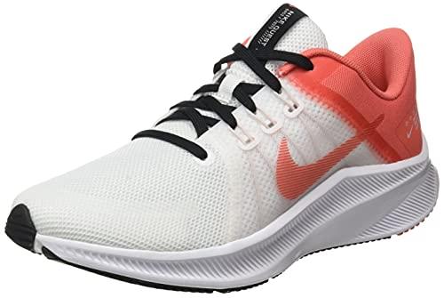 Nike Damen Quest 4 Laufschuh, Black White Dk Smoke Grey, 42 EU