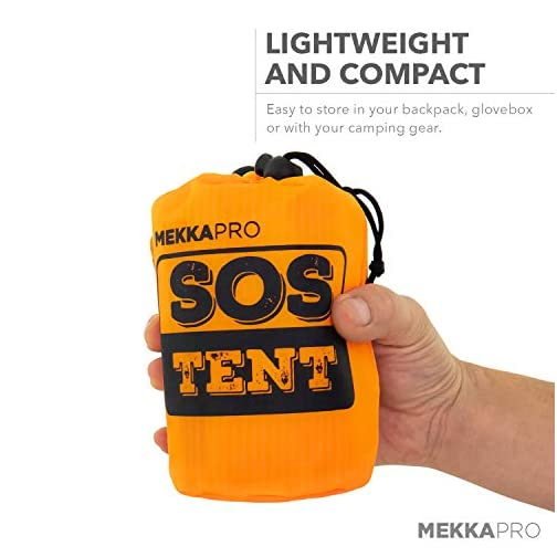 MEKKAPRO Emergency Survival Tent Shelter – 2 Person Tent – Survival Emergency Shelter, Tube Tent, Tarp 5