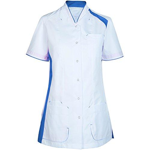 Havep Care 30099 Korte jas voor dames Größe L wit/azuurblauw.
