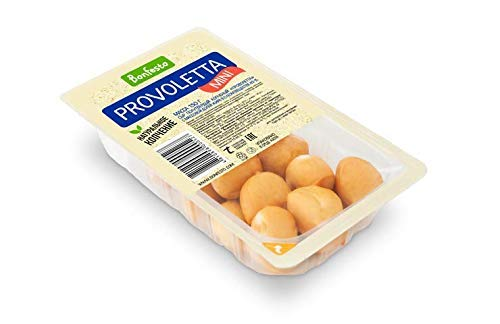 [冷蔵] ボンフェスト グラスフェッド 牧草牛 放牧牛 ハラル認証 (プロヴォレッタ・ミニ スモーク 150g Grass-fed Halal Mini Provoletta Affumicata 150g)