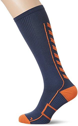 Hummel Herren Tech Indoor Sock High, Ombre Blue/Nasturtium, 12/41-45