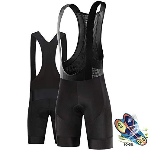 Cycling Shorts 9D Padded Road Bike Shorts, Men's Cycling Bike Bib Shorts,...