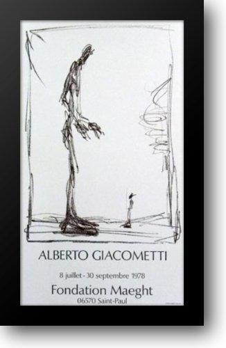 Dessin I 22x35 Framed Art Print by Giacometti, Alberto