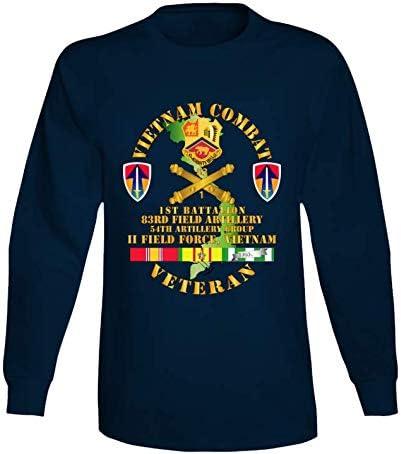XLARGE - Army Vietnam Combat half Veteran W Ii Fa Selling 1st Fie 83rd Bn