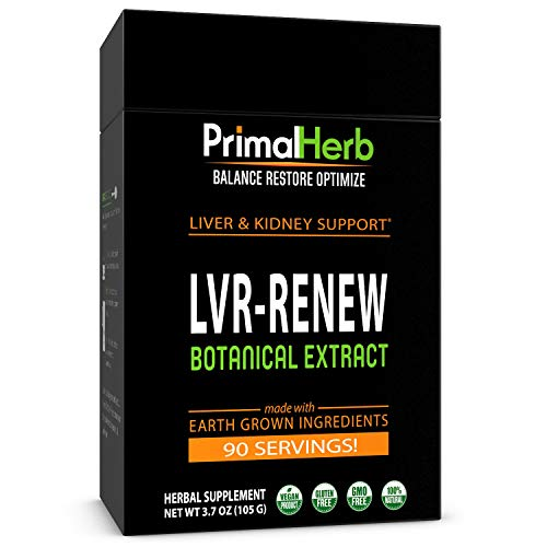 Liver Support Supplement | Cleanse, Detox & Repair | Primal Herb |...