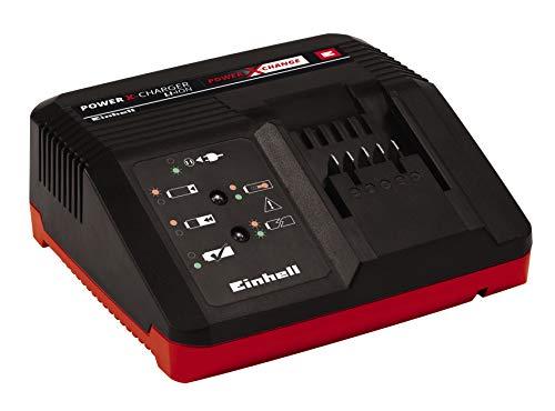 Einhell Original Ladegerät Power X-Charger 3A Power X-Change (Li-Ion, 18V, schnelles Laden ab 30 min, permanente Akkuüberwachung und intelligentes Lademanagement, 6-fache Zustands-LED-Anzeige )