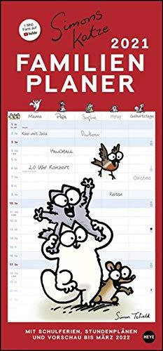 Simons Katze Familienplaner Kalender 2021