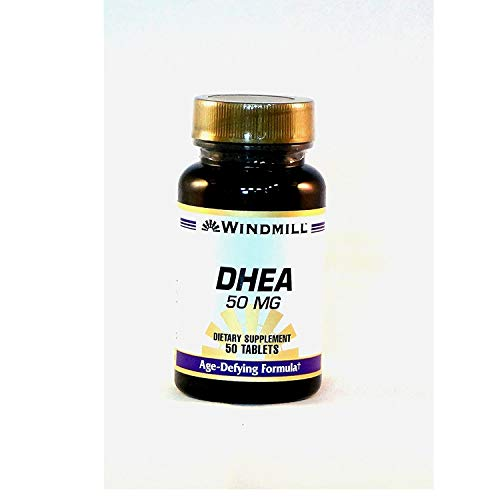 DHEA (Dehydroepiandrosterone) 50mg, 50 tab/bottle, Pack of 2