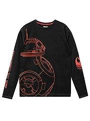 Star Wars - Camiseta de Mangas largas para niño BB8