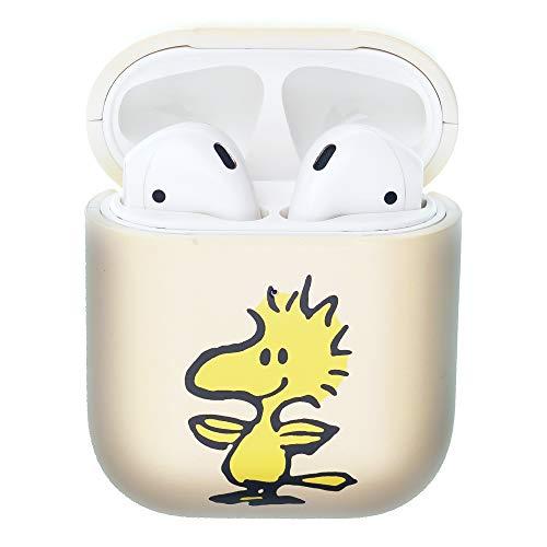 Peanuts Woodstock ピーナッツ ウッドストック AirPods と互換性があります ケース エアーポッズ用ケース 硬い スリム ハード カバー (面 ウッドストック) [並行輸入品]