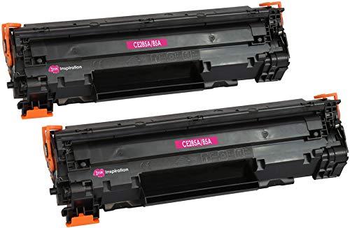 2 INK INSPIRATION® Premium Toner kompatibel für HP CE285A 85A Laserjet Pro P1102 P1102w P1100 M1130 M1210 M1212nf M1213nf M1217nfw M1132 M1134 M1136 | 1.600 Seiten