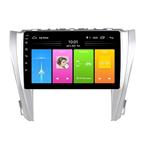 Kilcvt Radio De Audio Estéreo De 10.1 Pulgadas/Navegación GPS para Automóvil con Android 10, para Toyota Camry 2015-2016 Soporte Control del Volante/Enlace Espejo/Bluetooth,WiFi: 2 32g