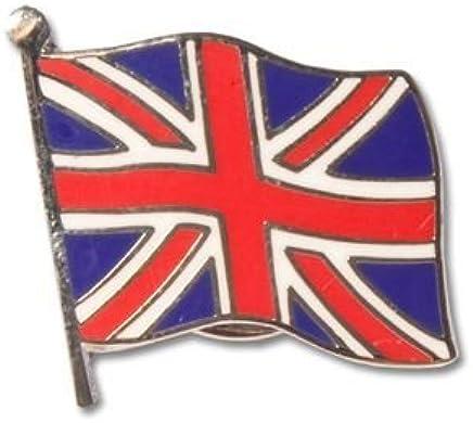 UNION JACK GREAT BRITAIN WAVING SMALL FLAG QUALITY ENAMEL LAPEL PIN BADGE