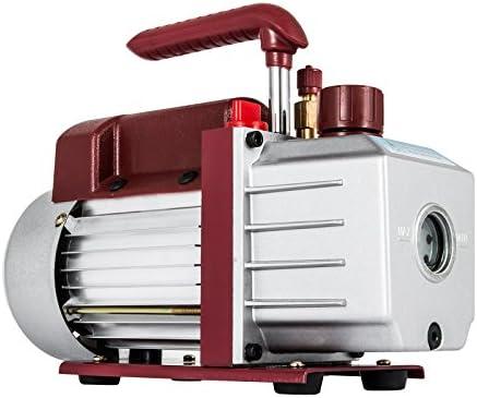Bestauto Vacuum Pump 4 5CFM Vacuum Pump HVAC Single Stage Rotary Vane Vacuum Pump 1 3HP 5PA product image