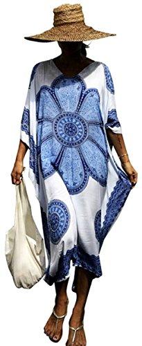 Ho Mall - Poncho para mujer, estilo bohemio, diseño étnico