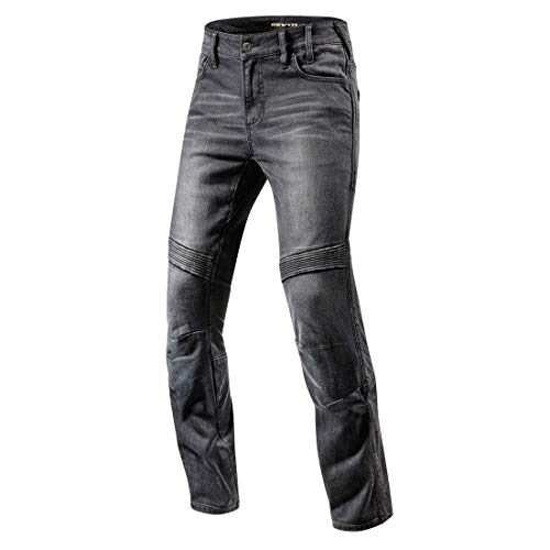 Revit Moto Motorcycle Jeans - Black