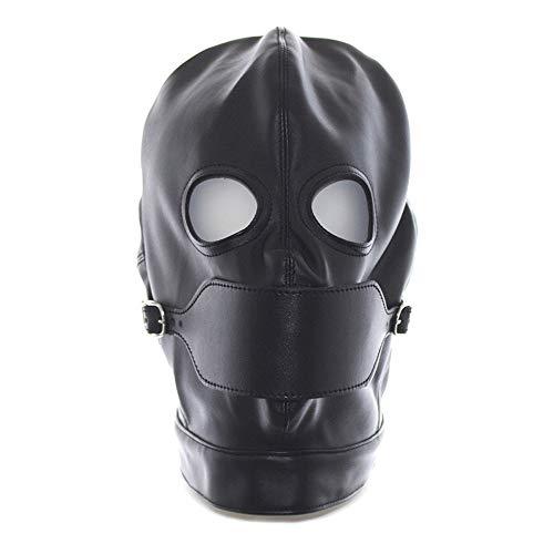 No-branded Einteiler Erwachsene Spaß Maske Tau Auge Bühne Prop Offenen Mund Schnalle Atmungsaktive Zurückhaltung Kopfbedeckung Schnürung Zurück Gehirn JFYCUICAN
