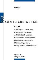 Cover Platon Sämtliche Werke Band 1