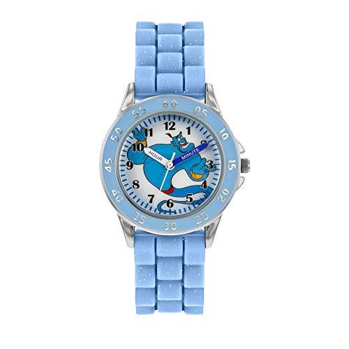 Disney Aladdin Genie Azul Reloj analógico