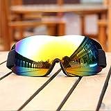 1 piezas Ski Goggles Gafas de Snowboard Gafas de Esquí para Adultos y Jóvenes,Gafas de Snowboard de Doble Capa100% Protección UV ya Prueba de Viento,Compatible con Casco de Esquí y Correa Ajustable