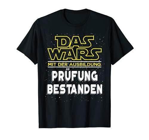 Das Wars - Ausbildung Geselle Prüfung Bestanden T-Shirt