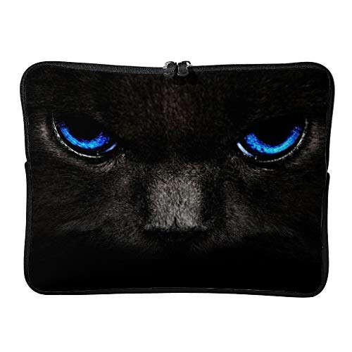 Standard Dragon Cat Face Laptop Bags Wear-Resistant Patterns Tablet Cover Suitable for Indoor White 12 Zoll