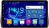 AEBDF Android 9.1 Navegación estéreo del automóvil para Toyota Wish 2009-2012.9 Pulgadas Sat Nav Pantalla táctil Bluetooth Player Multimedia con Enlace de Espejo,4Core WiFi+4G 1+32G
