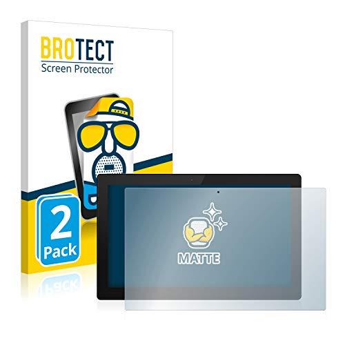 BROTECT 2X Entspiegelungs-Schutzfolie kompatibel mit TrekStor Primetab S11B Bildschirmschutz-Folie Matt, Anti-Reflex, Anti-Fingerprint