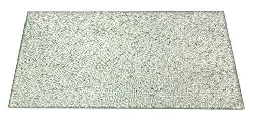 Regale4You Glasscheibe Crashglas Crasheffekt, 4 Größen / 2 Glasscheiben 60x30 cm
