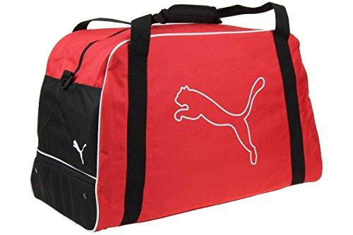 Puma United Football Bag Fussball Tasche Bag Sporttasche 65 Liter, Farbe:Rot