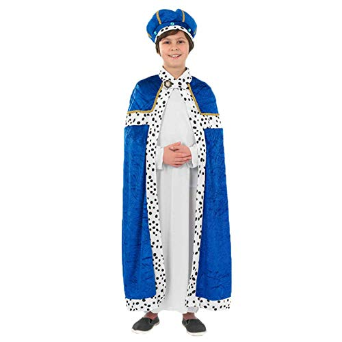 Fun Shack FNK3470S Costume, Unisex Bambini, Uomo Saggio, Blu, Small