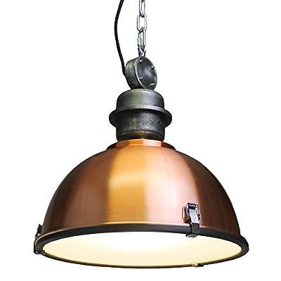 120V Italian Designed Hanging Industrial Pendant (Copper)