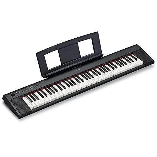 Yamaha NP32 76-Key Lightweight Portable Keyboard, Black