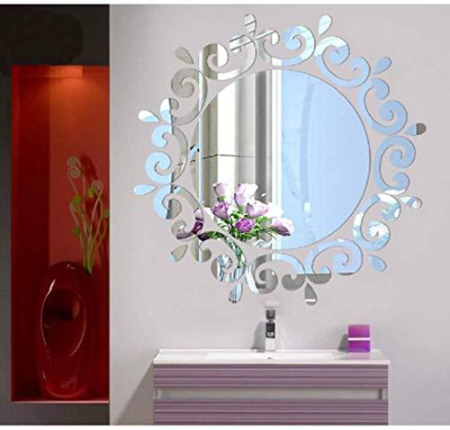 Plak dimensionale kristal verlichting, slaapkamer hal spiegels restaurant muurstickers, 24 24 grote druppels (de 2 stuks)