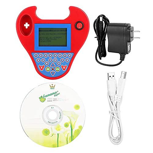 programador de llave automática para automóvilProgramador automóvil Zed-Bull automóvil Transpondedor Match Mini herramienta inteligente Enchufe EE. UU. 110-240V (rojo)