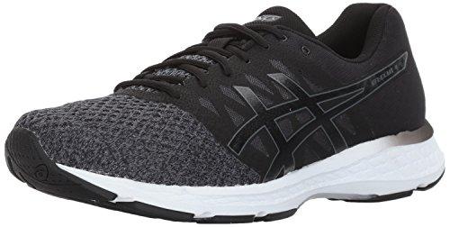 ASICS Men's Gel-Exalt 4 Running Shoe, Dark Grey/Black/White, 13 Medium US