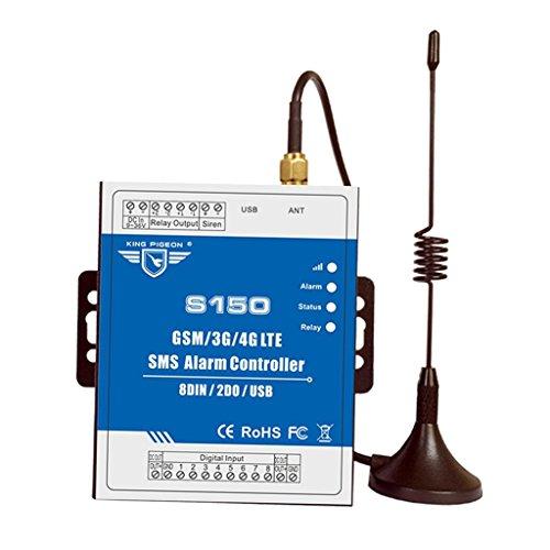 Baoblaze Controlador de Alarma SMS GSM Detector de Sensor de Nivel de Agua Detector de Movimiento PIR Control de Equipo de Automatización Remoto