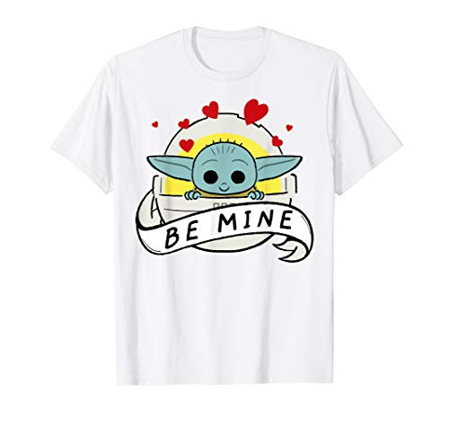 Star Wars The Mandalorian The Child Be Mine Valentine's Day T-Shirt