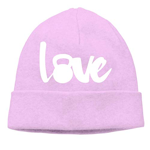 XCNGG Gorro de Punto Gorro de Lana Unisex Love Kettle Bell Knitted Hat, Thick Skull Cap