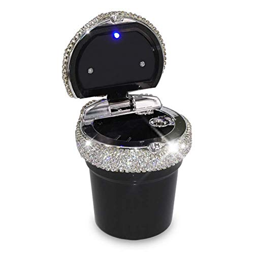 eing Car Ashtray Portable Bling Cigarette...
