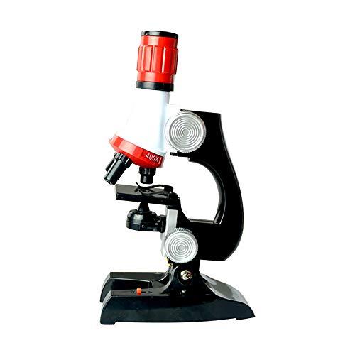 Microscopio para principiantes para niños,herramienta de educación temprana del laboratorio de ciencias,juguete microscopio enfoque ajustable para niños 1200 veces,para instrumentos ópticos para niños