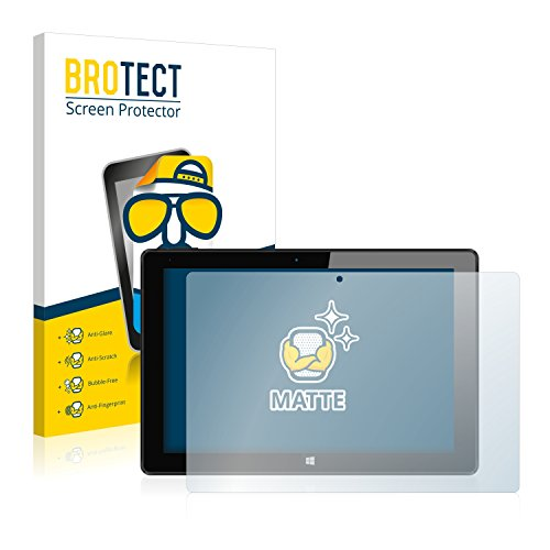 BROTECT 2X Entspiegelungs-Schutzfolie kompatibel mit One Xcellent 10.2 Displayschutz-Folie Matt, Anti-Reflex, Anti-Fingerprint
