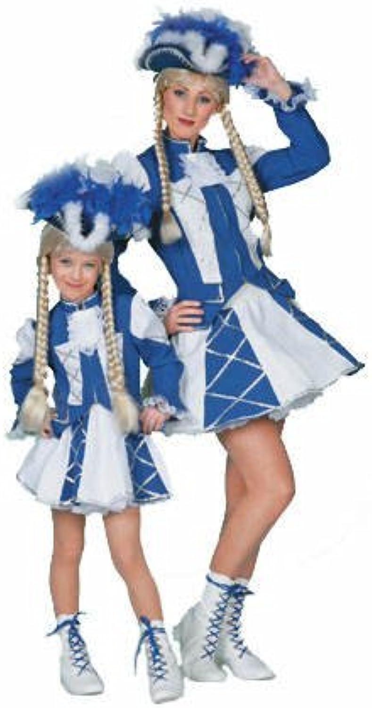 PARTY DISCOUNT Damen-Kostüm Tanzmariechen, blau-weiß, Gr. 44 B00461F0DG  Online-Exportgeschäft  | Offizielle