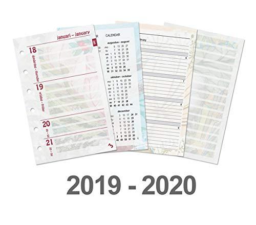 Kalpa 2 Anni Pocket Dreamnote Papers Planificatrice Riempire Con 6 Foro Della Ricarica Pad Per Pocket Taccuino Organizzatore Diario Inserti 360 Fogli - Confezione Da 2