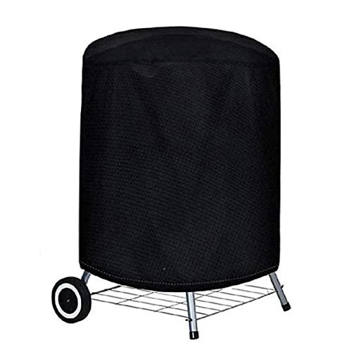 Nihlsen Cubierta redonda de barbacoa al aire libre cubierta de hoguera cubierta impermeable campana del horno circular campana para hornear carbón