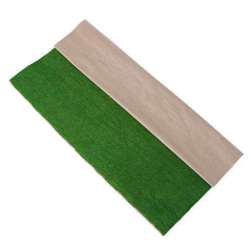 Dabixx Modell für Kinder, 50x50 cm Grasmatte Landschaftsmodell Zug Landschaftsplan Rasen Home Decoration