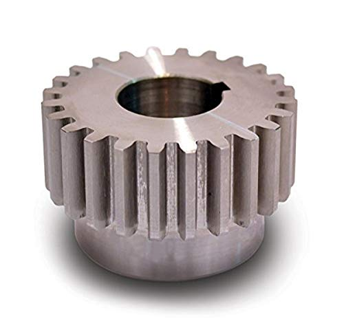 "Boston Gear ND42A Spur Gear, 14.5 Pressure Angle, Steel, Inch, 12 Pitch, 0.625"" Bore, 3.667"" OD, 0.750"" Face Width, 42 Teeth"