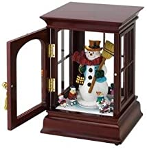 Mr. Christmas -  Curio CABINETS - Snowman